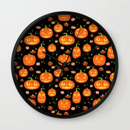 Cat o' Lanterns Wall Clock