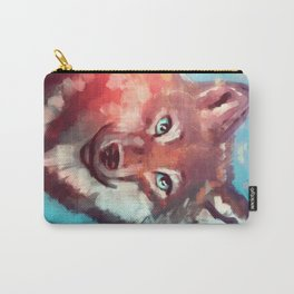 Wolf - Stare - Wanderlust Carry-All Pouch