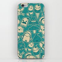 kawaii iPhone & iPod Skins featuring Kawaii by Hoborobo