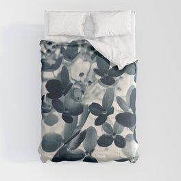 Cyan Hydrangea #1 Comforters