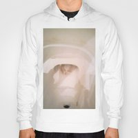 toilet Hoodies featuring TOILET SCUM CUPID by JANUARY FROST