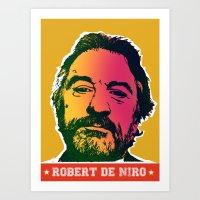 Robert De Niro Art Print
