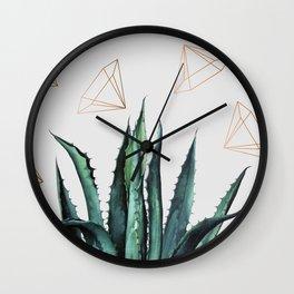 Agave Geometry #society6 #decor #buyart Wall Clock