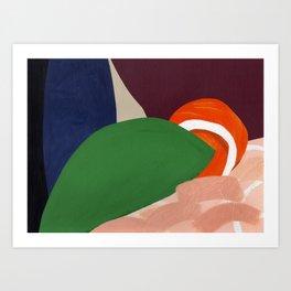 Shapes and Colors no.5 Art Print