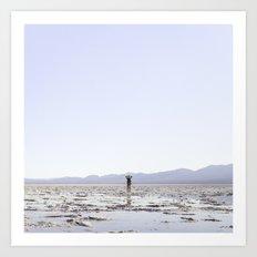Badwater Basin Art Print