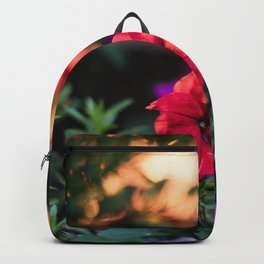 Still blooming in the evening Backpack