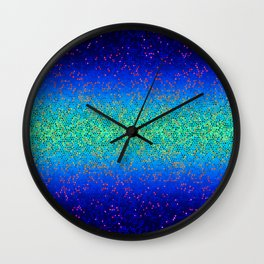 Glitter Star Dust G247 Wall Clock