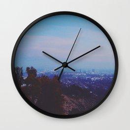 Desert Garden View Wall Clock