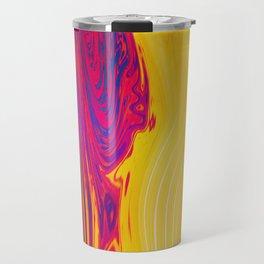 melting colors Travel Mug
