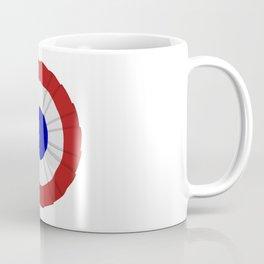 French Flag Cockade Pin Coffee Mug