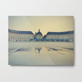 Place de la Bourse, Bordeaux , Fine Art Travel Photography Metal Print