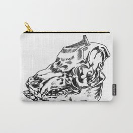 Pig Skull Carry-All Pouch