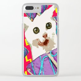 Attack of the breakfast! Clear iPhone Case