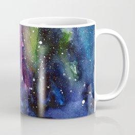 Galaxy Watercolor Night Sky Painting Nebula Art Coffee Mug