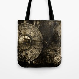 Time for the Train Tote Bag