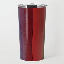 Strips on MDF Board Travel Mug
