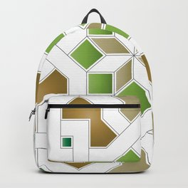 Oriental Pattern - Geometric Design Pt. 8 Backpack