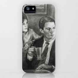TWIN PEAKS - COOPER AND AUDREY iPhone Case