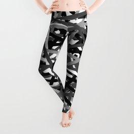 Grey Criss Cross Leggings