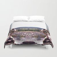 woodstock Duvet Covers featuring bookends by EnglishRose23
