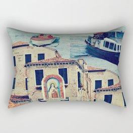 Maria, it's time to teenage riot Rectangular Pillow