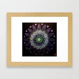 Purple transmutation 8:4:16 Framed Art Print