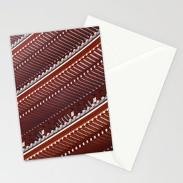 Pagoda roof pattern Stationery Cards