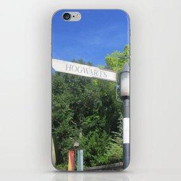 Take the road most traveled iPhone Skin