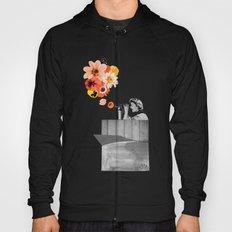 in bloom (black & white) Hoody