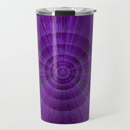Magical Mystery Purple Shimmering Object Travel Mug