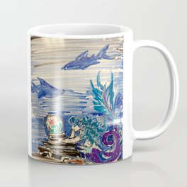 Dreaming Mermaid Coffee Mug