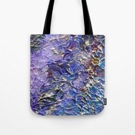 Silver Blue Moon Tote Bag