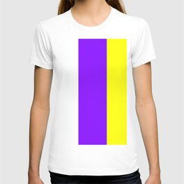 flag of canary islands 2b -canaries,canary,atlantic,canarias,Canarian,canario,canaria,spain,spanish, T-shirt
