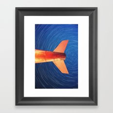 Cleared For Takeoff Framed Art Print