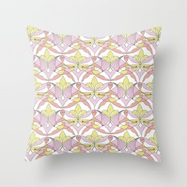 Interwoven XX_Cherry Blossom Throw Pillow