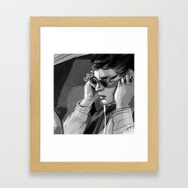 B-a-b-y Framed Art Print