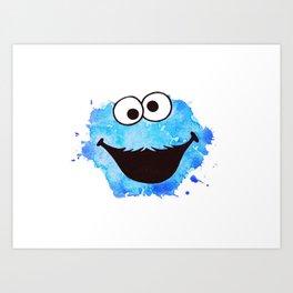 Cookie Art Print