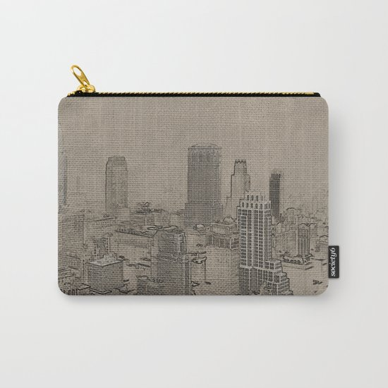 Old Cityscape Carry-All Pouch