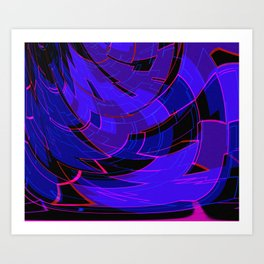 Electronic Dance Floor Art Print