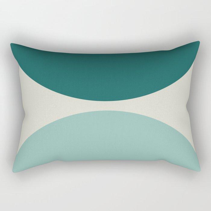 Abstract Geometric 20 Rectangular Pillow