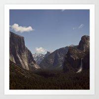 yosemite Art Prints featuring Yosemite by Jeff Harmon Photography