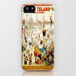 Vintage poster - Circus iPhone Case