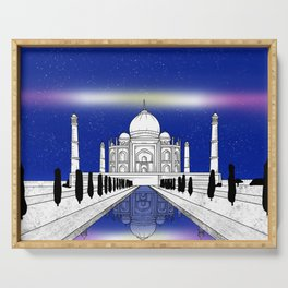 Taj Mahal India Serving Tray