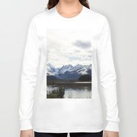 alaska Long Sleeve T-shirts featuring Alaska by Chris Root