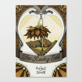 The Rocky Soil Canvas Print