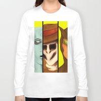 watchmen Long Sleeve T-shirts featuring Watchmen de Alan Moore by La Milana Bonita