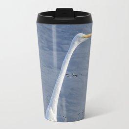 Great Egret at Delta Ponds, No. 2 Travel Mug