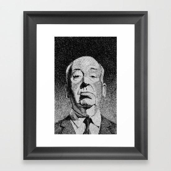 Fingerprint - Hitchcock Framed Art Print