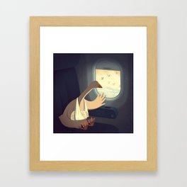 Hello, Goodbye Framed Art Print