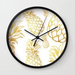 tropical rain Wall Clock